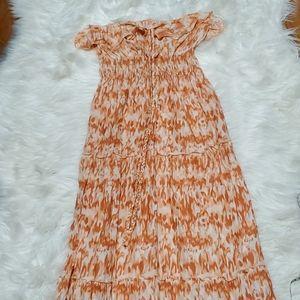 Womens MUDD Halter Top Maxi Dress